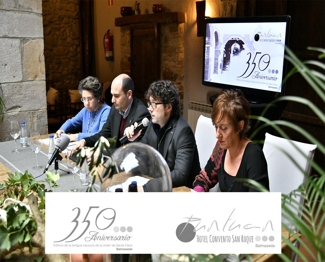 El Hotel Convento San Roque celebrará durante todo el 2017, el 350 Aniversario de su edificio