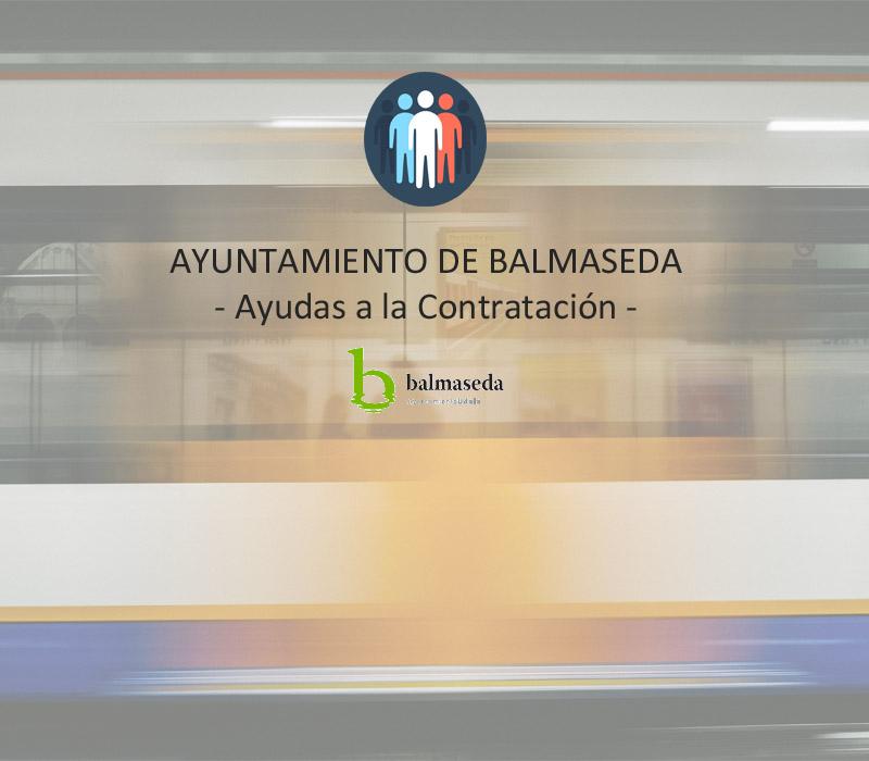 El Ayuntamiento de Balmaseda lanza Ayudas a la Contratación para este 2017