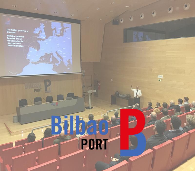 Enkarterri Group y sus empresas visitan de la mano de Asier Atutxa (Presidente Autoridad Portuaria) el Puerto de Bilbao