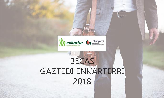Becas Gaztedi Enkarterri 2018