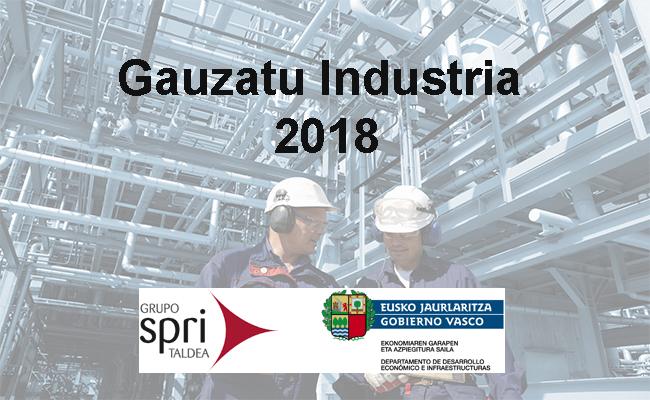 Info Ayudas:  Programa Gauzatu Industria 2018