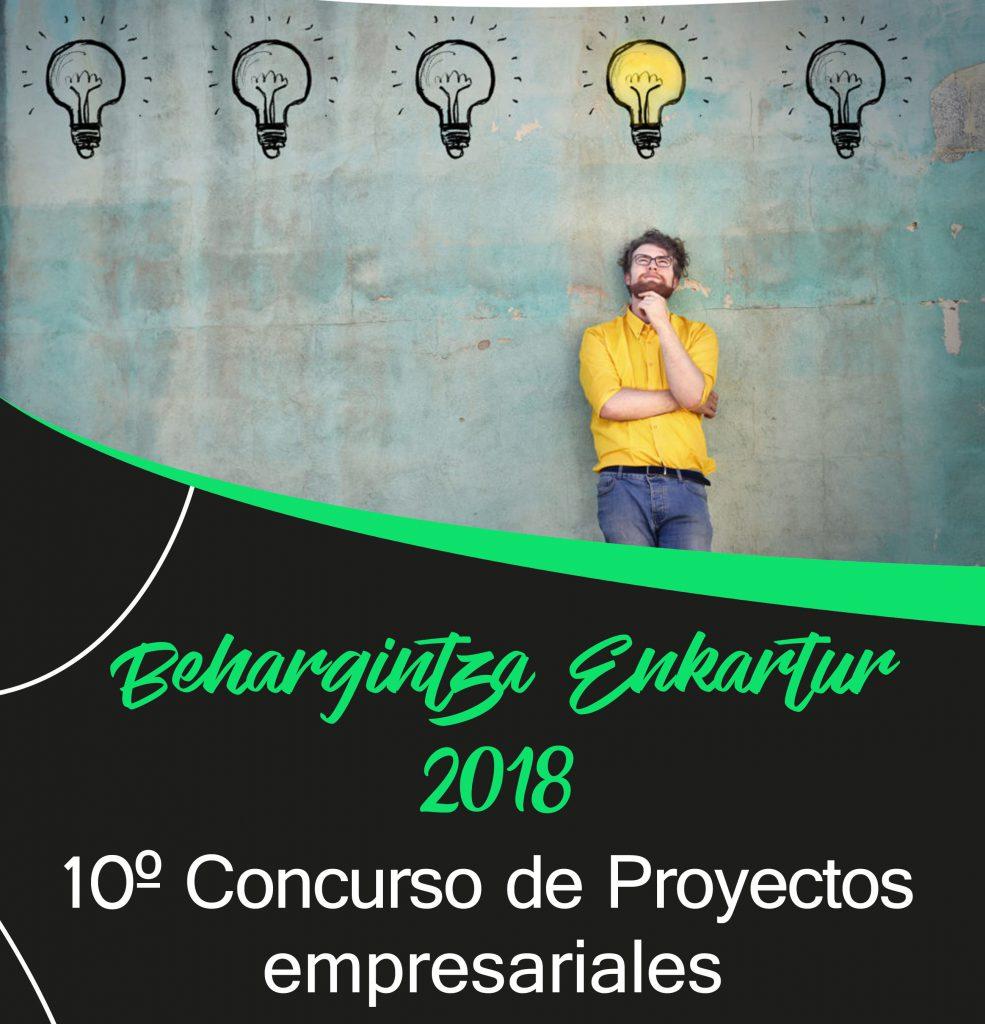 X Concurso Behargintza Enkartur – Proyectos Empresariales