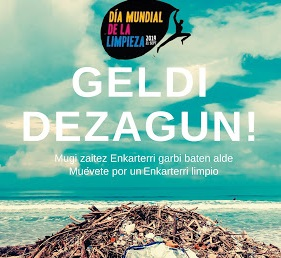 "La iniciativa ecólogica ""Auzolan"" de limpieza del Cadagua de Amalurra"