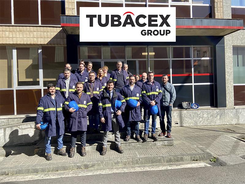 Las empresas de Enkarterri Group visitan Tubacex