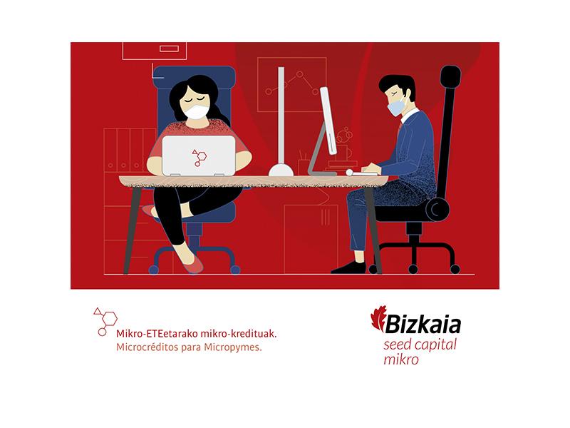 Ampliación Microcréditos para pymes para la reactivación económica Bizkaia Aurrera – Seed Capital Micro