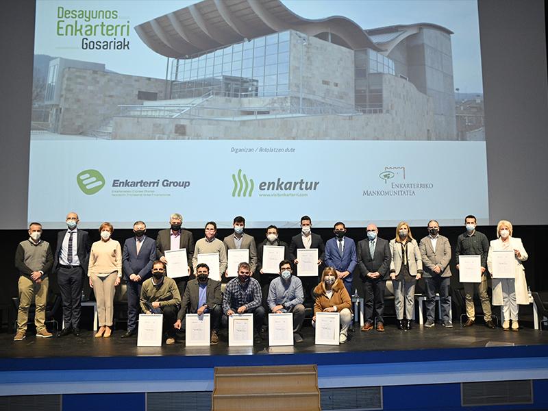 Enkarterri reconoce a las empresas que impulsan el desarrollo sostenible de la Comarca de Las Encartaciones