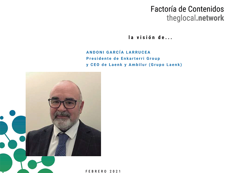 La Visión de Andoni García de la actualidad en Enkarterri Group en su décimo aniversario de actividad