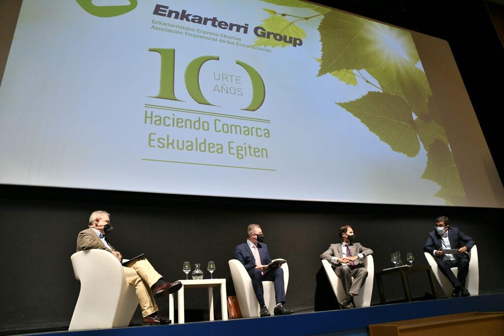 Enkarterri Group conmemora su 10º aniversario con una jornada sobre Agua, Energía, Sostenibilidad y competitividad empresarial