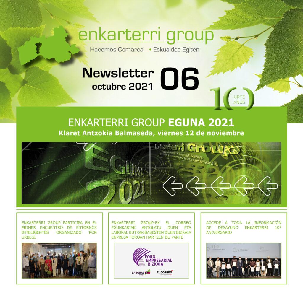 Newsletter Enkarterri Eguna / Octubre 2021